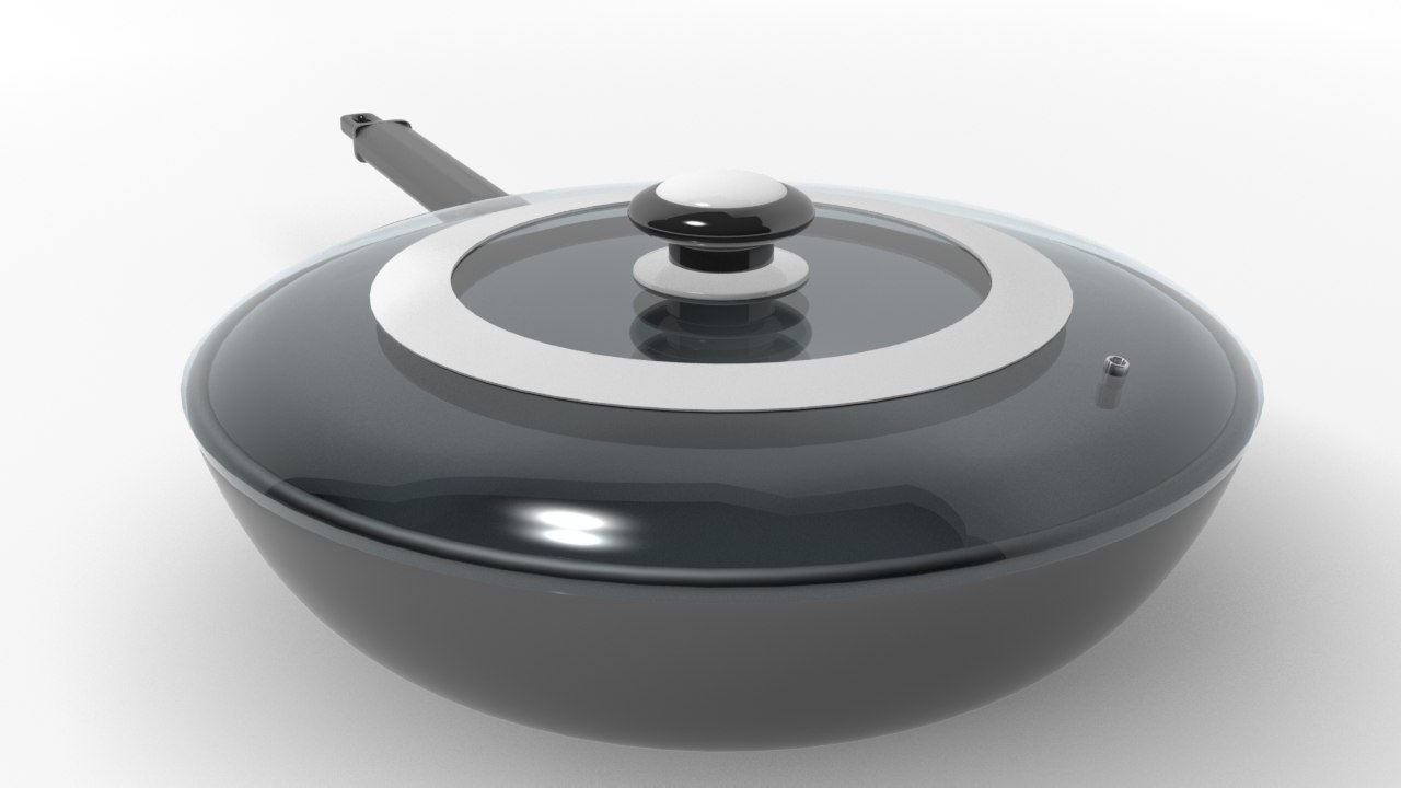 3d model pan