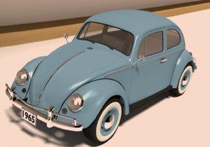 beetle 3d obj