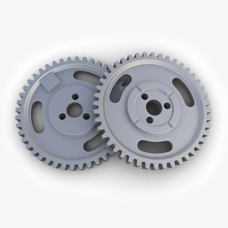 gear 20 3d model