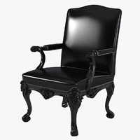 Ralph Lauren Clivedon Carved Chair