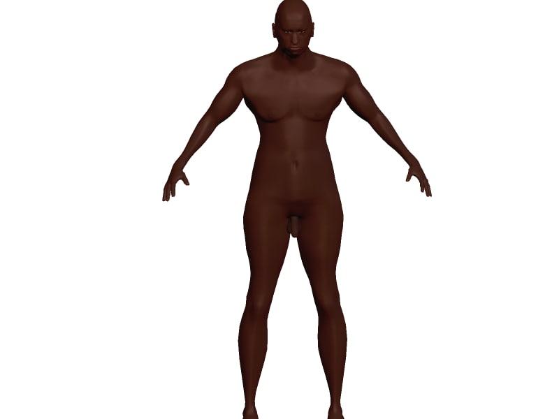 maya black male