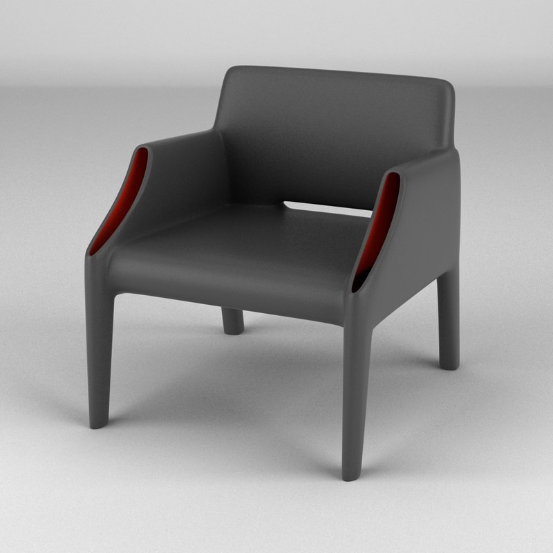3ds max kartell magic hole chair