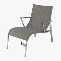 3d alias armframe chair model
