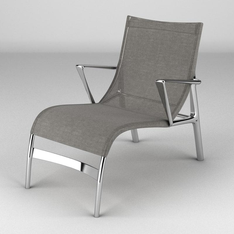 3d alias armframe chair model