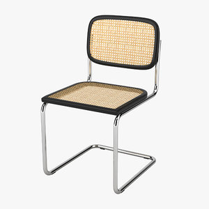 thonet s64 chair 3d max