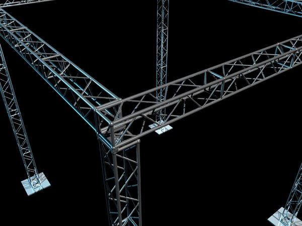 Truss 3D Models for Download | TurboSquid