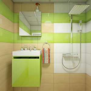 interior scene bathroom 1 3d max