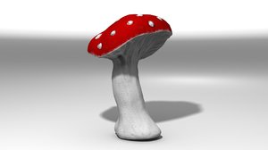 3d model of moshroom