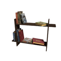 3d model of bookshelf book shelf