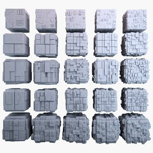 max sci-fi cube mht bundle-01