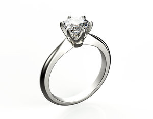 3d engagement ring set 6