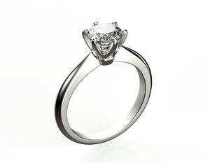 3d engagement ring set 6