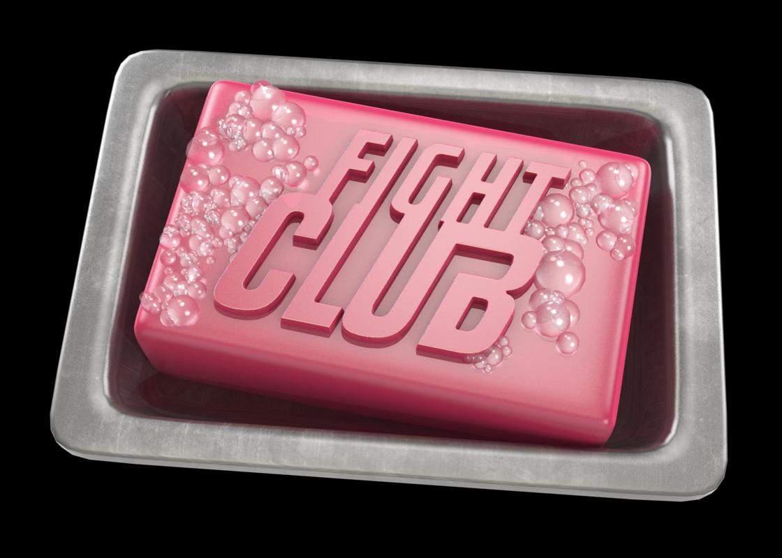 3d bathroom soap club model