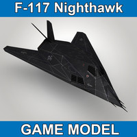 F117 Nighthawk - Game model