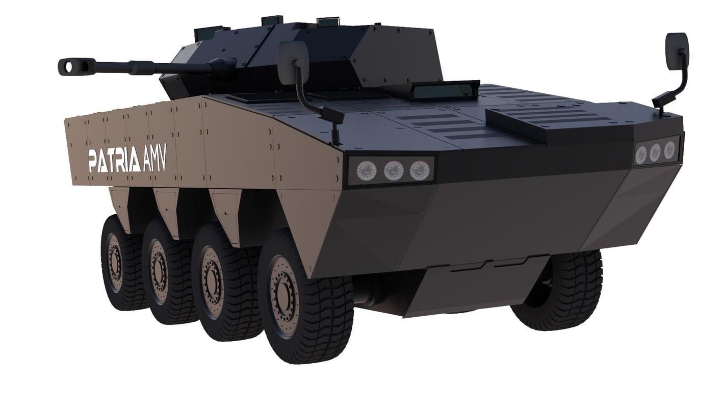 3d patria amv model