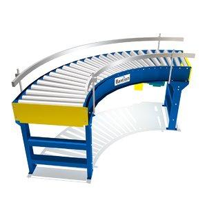 live curve driven conveyors 3d fbx