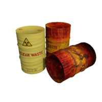 Nuclear Waste Barrel Type 5