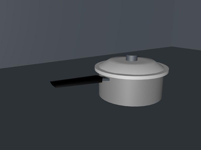 3d model of casserolle