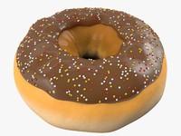 glazed donut c4d