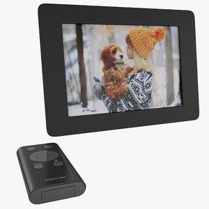 digital photo frame aluratek 3d max