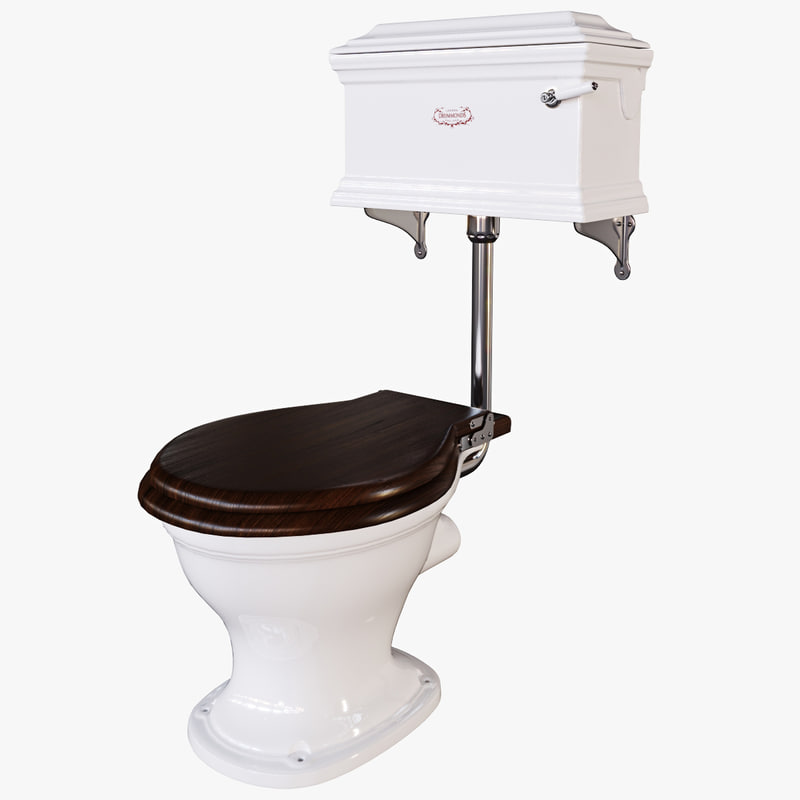 drummonds casseley level wc 3d obj