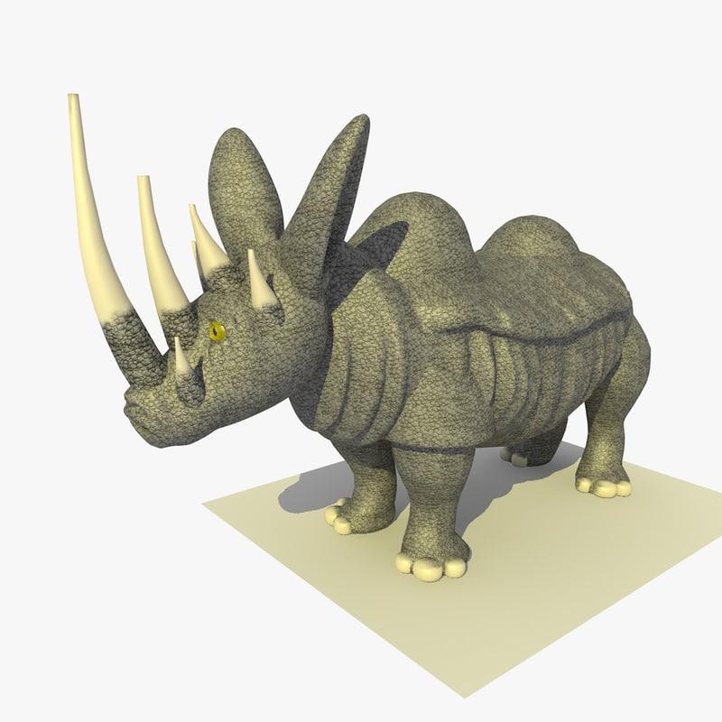 mutant rhino alien 3ds