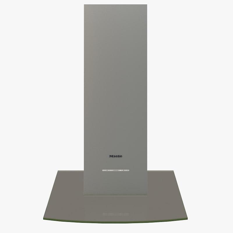 miele ventilation hood 3d max