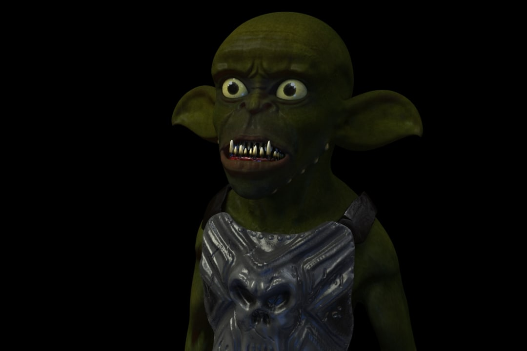 goblin sculpted zbrush 3d model