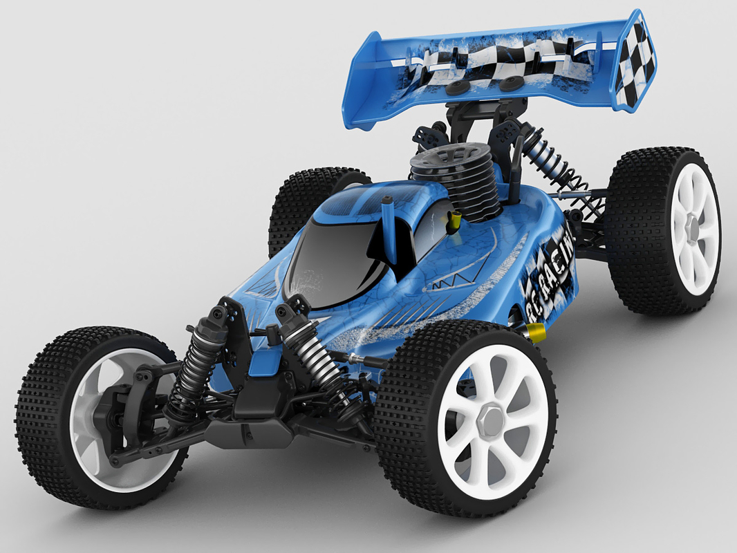 3d model of rc pulse rtr