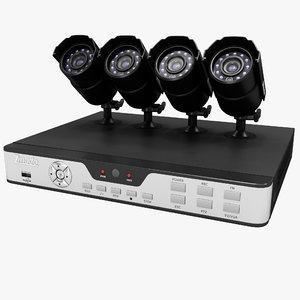 3d security zmodo pkd-dk0865 kit model