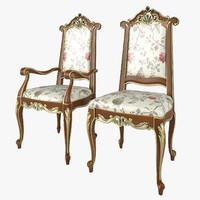 3d chair modenese gastone