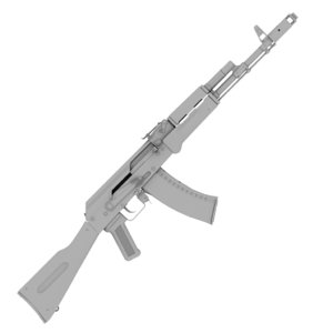 3d guns ak-74n aks-74n model