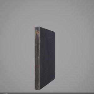 3d model book 15