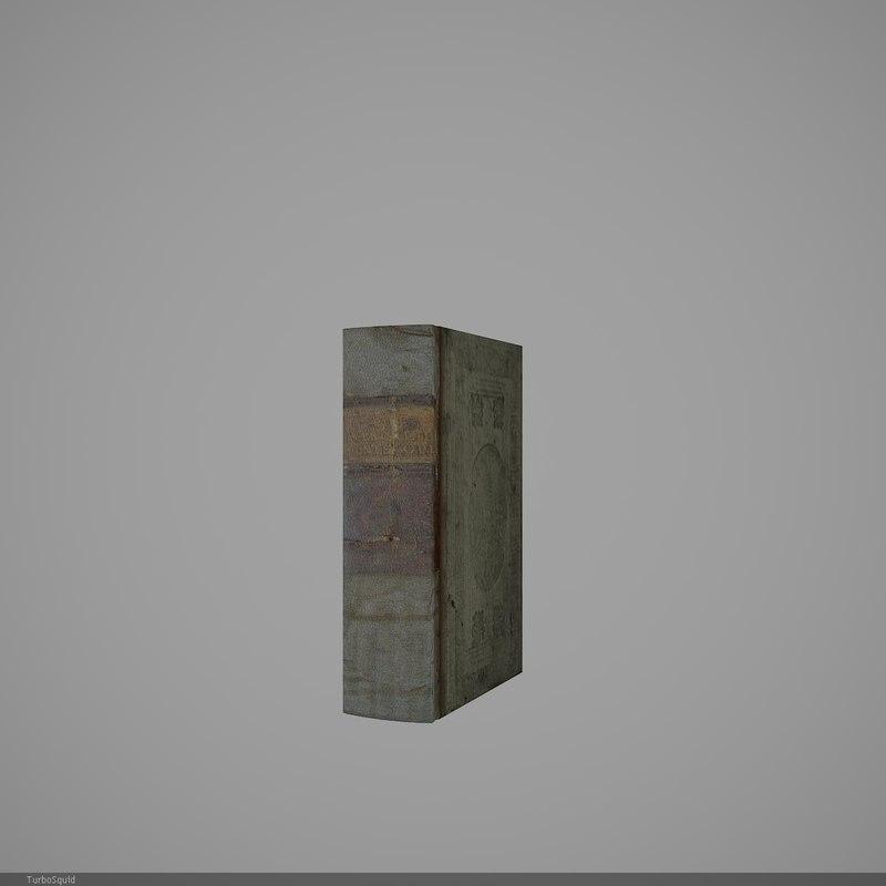 book 44 3d model