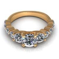 Trio Enagagement Ring