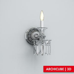 sconce 3d max