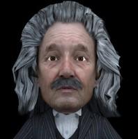 3D Albert Einstein
