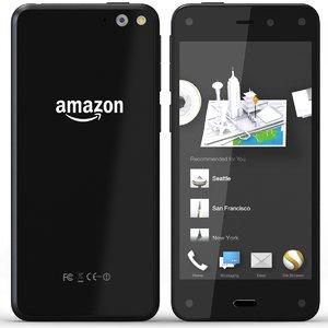 3d model amazon phone m