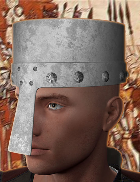 helmet daz3d obj free
