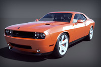 3ds max dodge challenger
