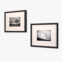 Art Frame, Black and White