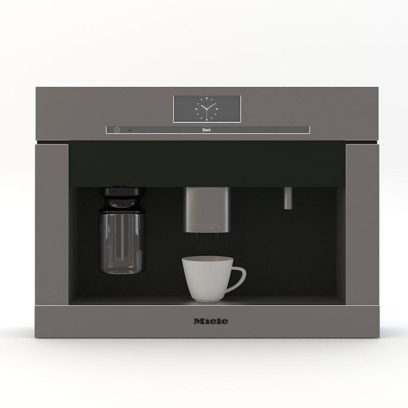 miele coffee machine 3d max