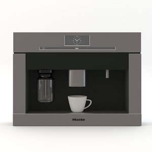 miele coffee machine 3d max