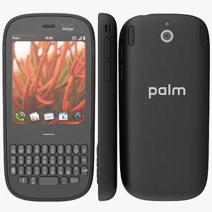 3d model palm pixi
