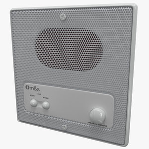 remote wall station dmc3-4 3d c4d