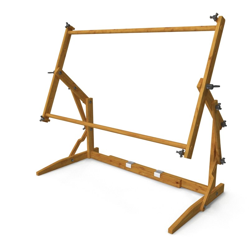 3ds max needlepoint frame stand