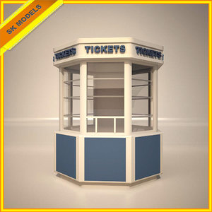 3d model box office