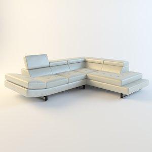 corner sofa white max