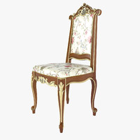 chair modenese gastone 3d model