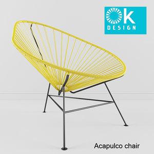 acapulco chair obj